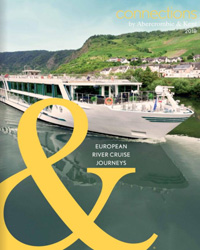 Connections European River Cruise Journeys (brochure cover)