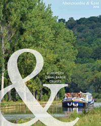 European Canal Barge Cruises (brochure cover)