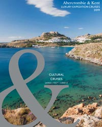 Luxury Expedition Cruises: Cultural Cruises (brochure cover)
