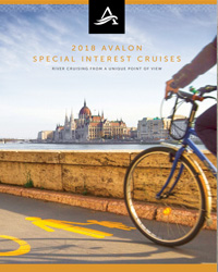 Avalon Waterways Special Interest Cruises 2018-2019 (brochure cover)