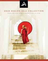Avalon Waterways Asia Collection (brochure cover)