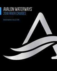 Avalon Waterways 2017-2018 (brochure cover)