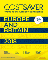 CostSaver: Europe & Britain 2018 & 2019 (brochure cover)