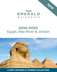 Egypt, Nile River & Jordan (brochure cover)