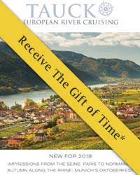 Tauck River Cruises 2018 & 2019  (brochure cover)