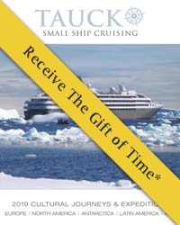 Tauck Small Ship Cruising 2018 & 2019 (brochure cover)