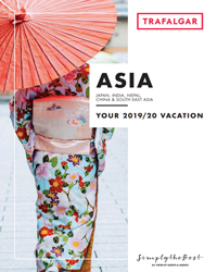 Trafalgar Tours - Asia (brochure cover)
