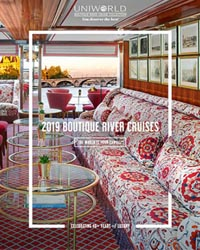 2018 & 2019 Boutique River Cruises (brochure cover)