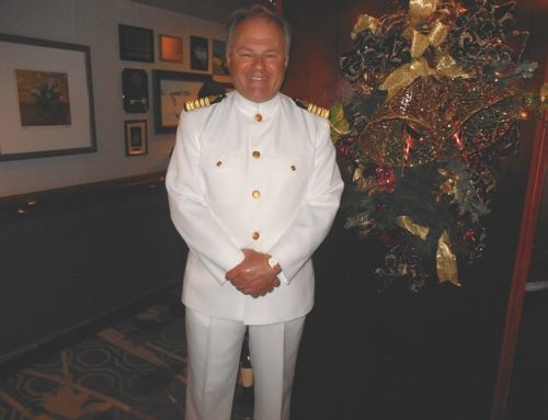 A Christmas chat with the jovial Captain of Crystal Serenity